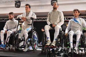 Sport - Scherma paralimpica - L'Italia campione del mondo nella sciabola a squadre