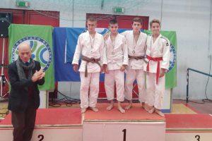 Sport - Un giovane atleta del Judo club Canino
