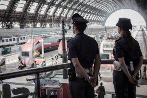 Roma - Stazione Termini - Polizia