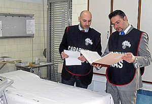 I carabinieri del Nas - Immagine di repertorio