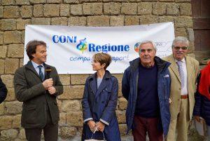 Sport - Coni Lazio a Civita di Bagnoregio