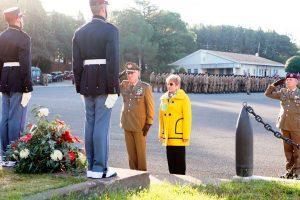 Viterbo - La cerimonia alla scuola sottufficiali dell'esercito