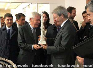 Viterbo - Leonardo Michelini e Paolo Gentiloni
