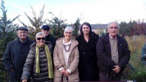 """Viterbo - Donata una panchina per il """"giardino della Memoria"""""""