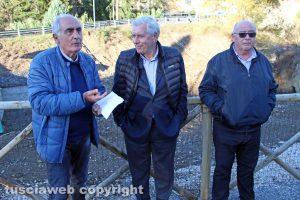 Alvaro Ricci, Leonardo Michelini e Mario Quintarelli