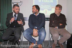 Walter Rizzetto, Giuseppe Talucci Peruzzi e Claudio Ubertini
