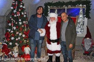 Viterbo - Caffeina Christmas Village - Babbo Natale con Rossi e Baffo
