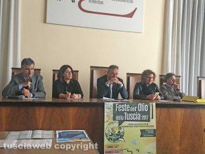 Viterbo - Presentazione Feste dell'olio nella Tuscia