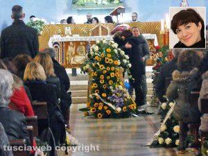 Terni - I funerali di Anna Chiara Nobili