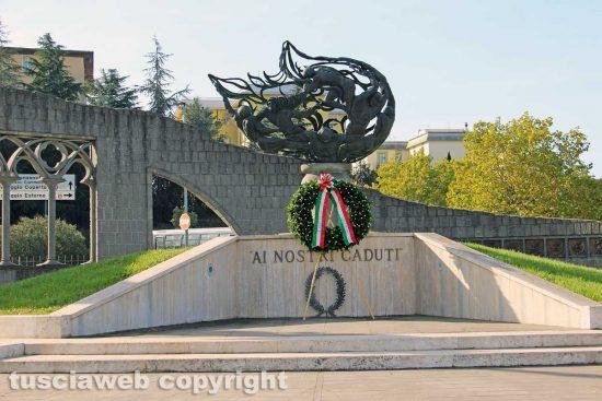 Viterbo - Commemorazione caduti in guerra