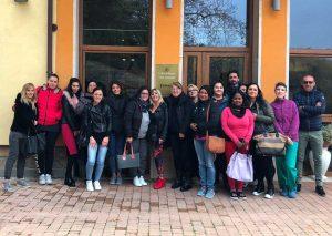 Latera - Cna - I partecipanti al corso di assistente familiare