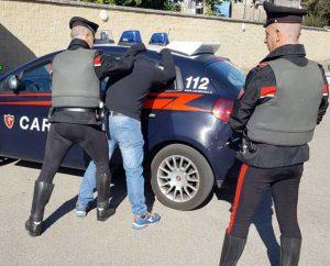 Carabinieri - Un arresto - Foto d'archivio