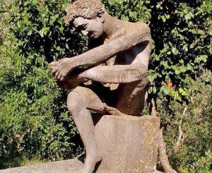 La statua di Marzio