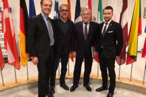 L'assessore Fabio Notazio a Bruxelles