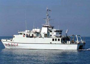 La nave idro-oceanografica Aretusa della Marina militare