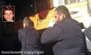 Bracciano - I funerali di Sebastian Ragazzini