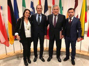 La visita di Caci e degli amministratori locali a Bruxelles