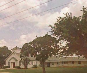 La chiesa in Texas dove è avvenuta la strage