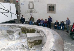 Viterbo - La fontana a Pianoscarano