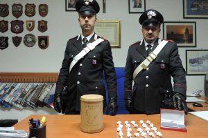 Bassano Romano - La droga sequestrata