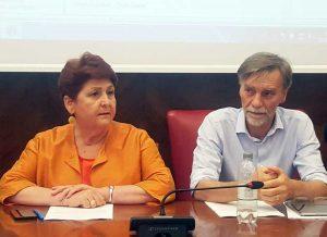 Teresa Bellanova e Graziano Delrio
