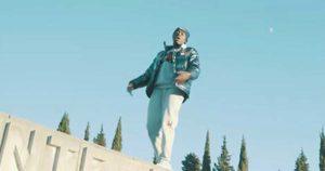 Il rapper Justin Owusu sul sacrario di Redipuglia