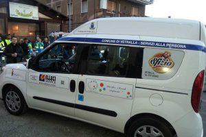 Vetralla - Inaugurato il primo taxi sociale