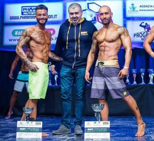 Daniele Abbruciati vince il Best of body building
