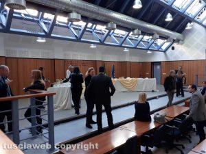 Tribunale - Festa per il pm Fabrizio Tucci