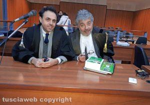 Gli avvocati Samuele De Santis ed Enrico Valentini