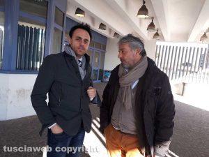 Gli avvocati Samuele De Santis (a sinistra) e Enrico Valentini