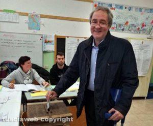 Tarquinia - Università agraria - Pietro Mencarini al voto
