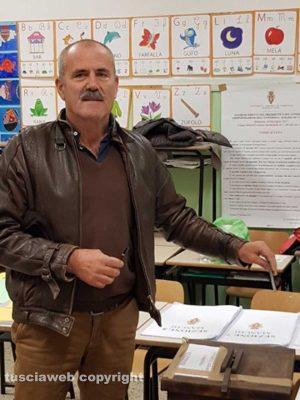 Tarquinia - Università agraria - Sergio Borzacchi al voto
