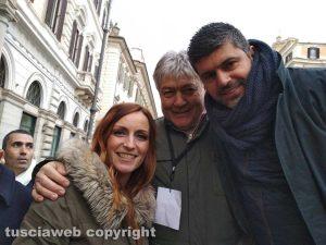 Noi con Salvini Viterbo in piazza a Roma