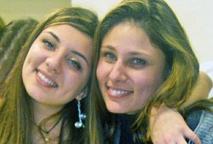 Elena Maria Coppa con la mamma Laura Meassi