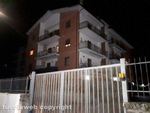 Viterbo - Via Santa Lucia - Si ipotizza il duplice omicidio