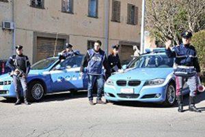 Viterbo - I controlli della polizia