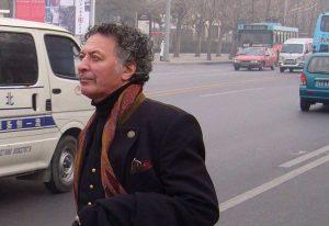 Il pittore Alessandro Kokocinsk