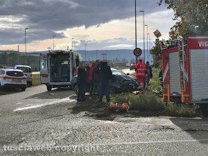 Viterbo - Incidente al Poggino