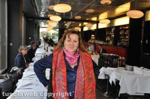 Antonella Montesi proprietaria ristorante Malatesta a Berlino