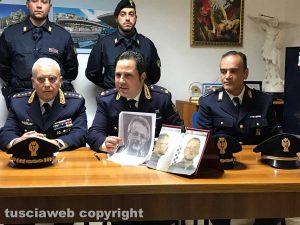 Sanremo - Delitto di via Santa Lucia - Fermo di Ermanno Fieno - Martino Santacroce della polizia di frontiera con le foto segnaletiche