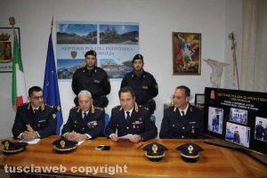 Sanremo - Delitto di via Santa Lucia - Fermo di Ermanno Fieno - La conferenza della polizia