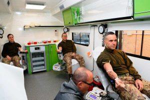 Gli allievi marescialli donano il sangue
