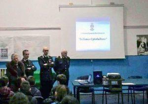 Montefiascone - L'incontro dei carabinieri nelle scuole contro il bullismo