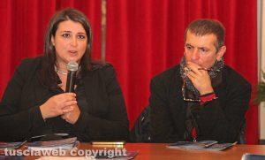 Luisa Ciambella e Antonello Ricci
