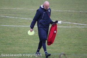 Sport - Calcio - Viterbese - L'allenamento di ieri - Sottili