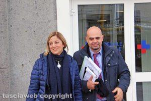 Roberta Lombardi e Massimo Baroni