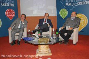 Enrico Panunzi, Nicola Zingaretti, Riccardo Valentini