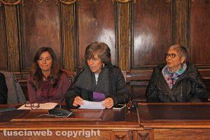 Ilaria Bertini, Raffaela Saraconi e Giuseppina Del Signore