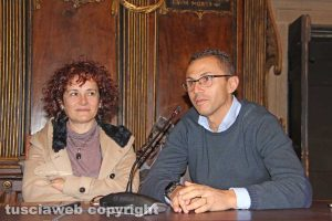 Luigia Melaragni e Andrea Belli